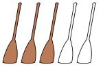 3-paddles