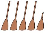 4.5 paddles