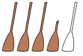 3.5 paddles
